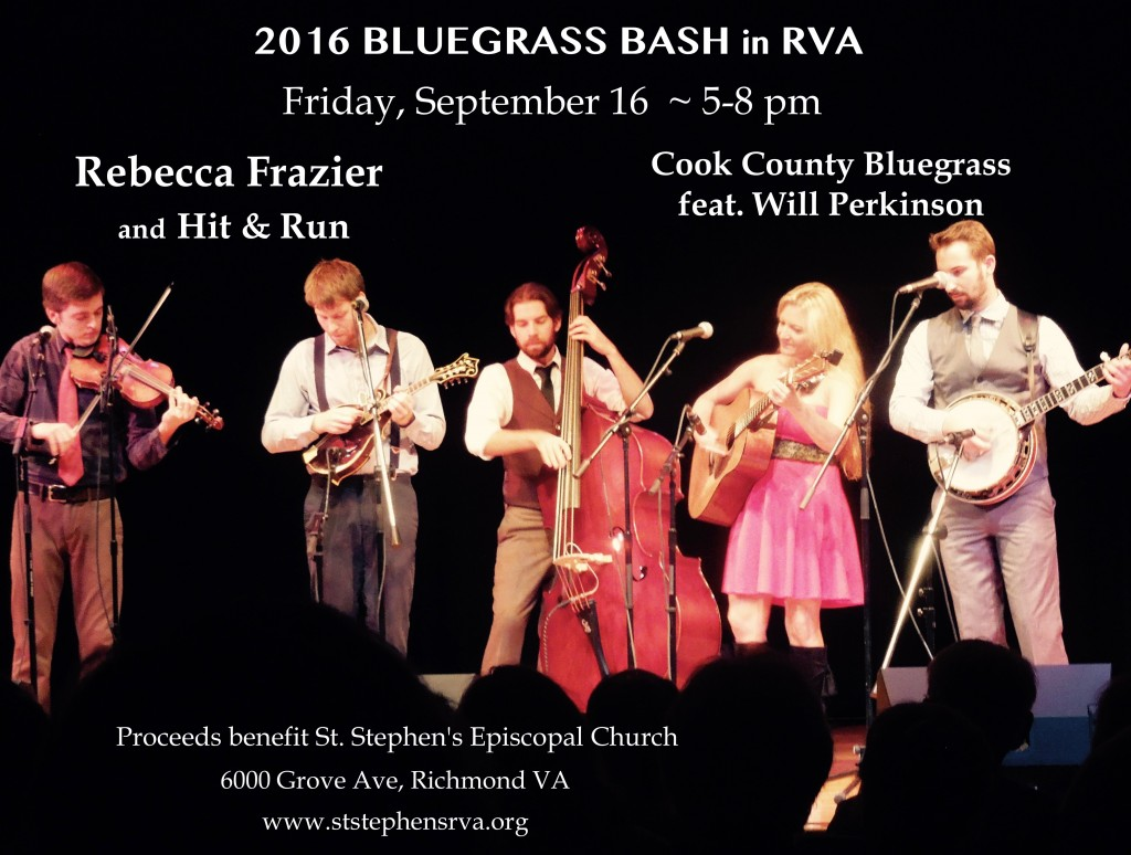 Bluegrass Bash 2016 flyer